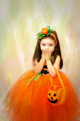 Inchiriere rochita dovleac halloween 0479