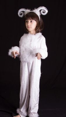 Costum serbare copii berbec, ied 9