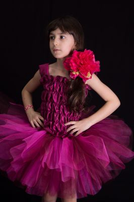 Inchiriere Costum serbare floare fetita 759