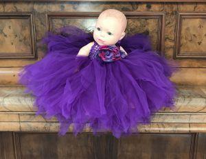Rochita ocazie mov bebe 1009V