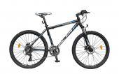 Bicicleta Mountain Bike Hardtail DHS Terrana 2627 - model 2015 26''-Negru-Rosu-495 mm