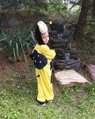 Inchiriere costum albina baieti 700