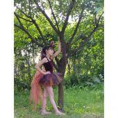 Costum serbare vulpe, veverita 1205