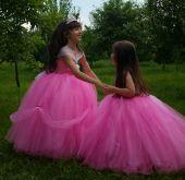 Rochita roz fetite printesa, Aurora 60