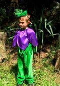Costum serbare floare toporas, viorea, brandusa 734
