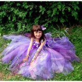 Rochie  lila fetite 209