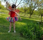 Costum pentru serbari fetite Fluturasi 496