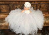 Rochita alba botez 1-12 luni